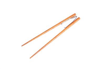 金属辅助夹防滑型筷子521(长22.5CM