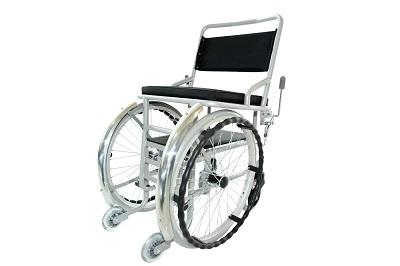 铝合金家庭型轮椅车(不可收折)