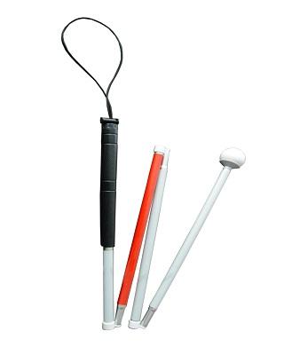 四节成人滚轮盲杖V-835A(国内产 122CM)