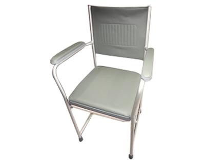 铝合金座便椅FS883L(座椅可折叠带扶手)