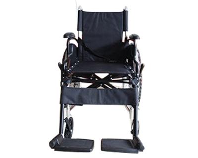 铝合金手推轮椅车1A-26(活动扶手搁脚)