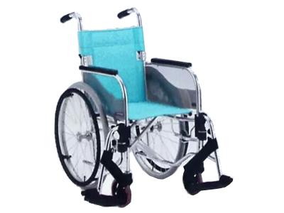 铝合金手推轮椅车SA-100(座宽38/40/42cm  活动搁脚)