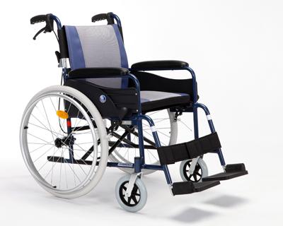 铝合金手推轮椅车依可立X1(座宽42/44/46cm)