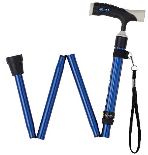 铝合金折叠手杖 MRF-011220(蓝色)