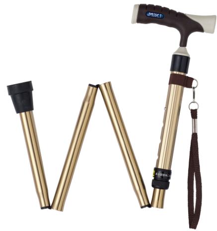 铝合金折叠手杖 MRF-011220(钛色)
