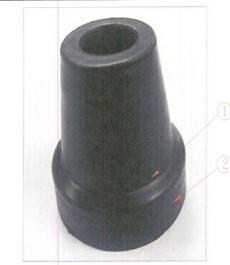 手杖橡皮头(铝合金折叠拐MRF-011220 折叠拐使用)