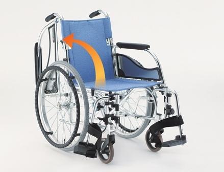 轻型铝合金轮椅车MW-SL3(活动扶手搁脚 座宽38.40.42.44.46CM)