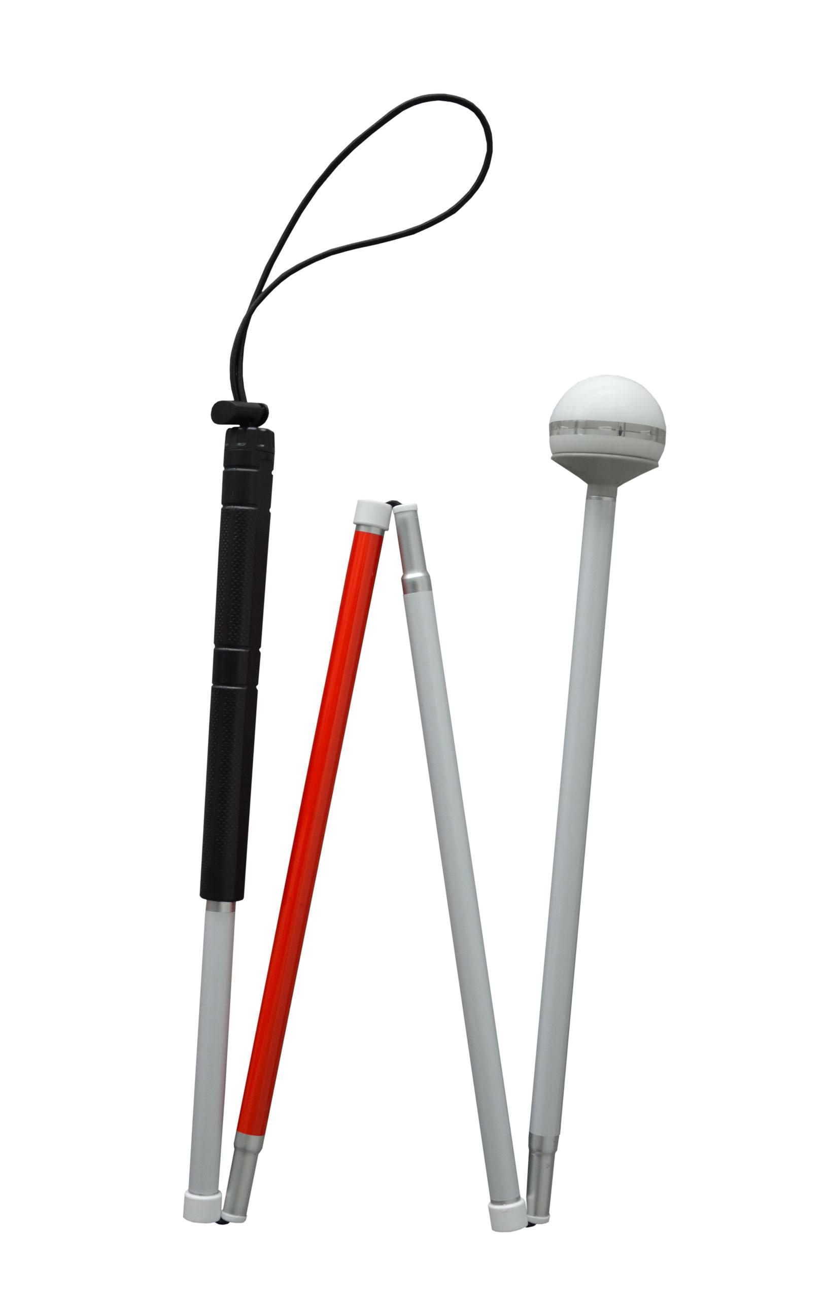 闪光滚轮盲杖V-886A