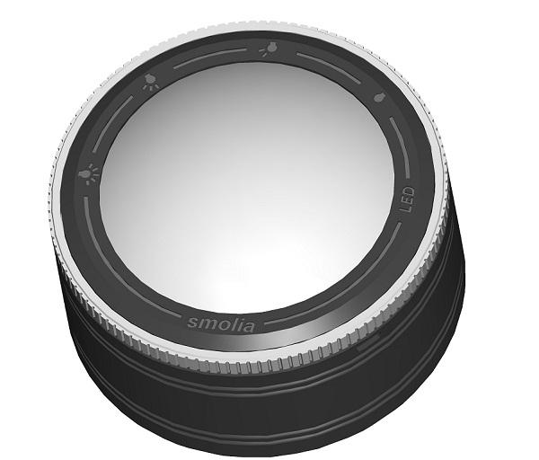 镇纸式充电调光LED放大镜(5倍*RG014)