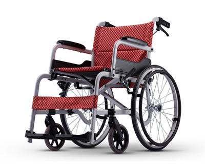 铝合金手推轮椅车  SM-100.5