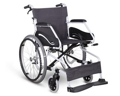 铝合金手推轮椅车 SM-150.3 F22