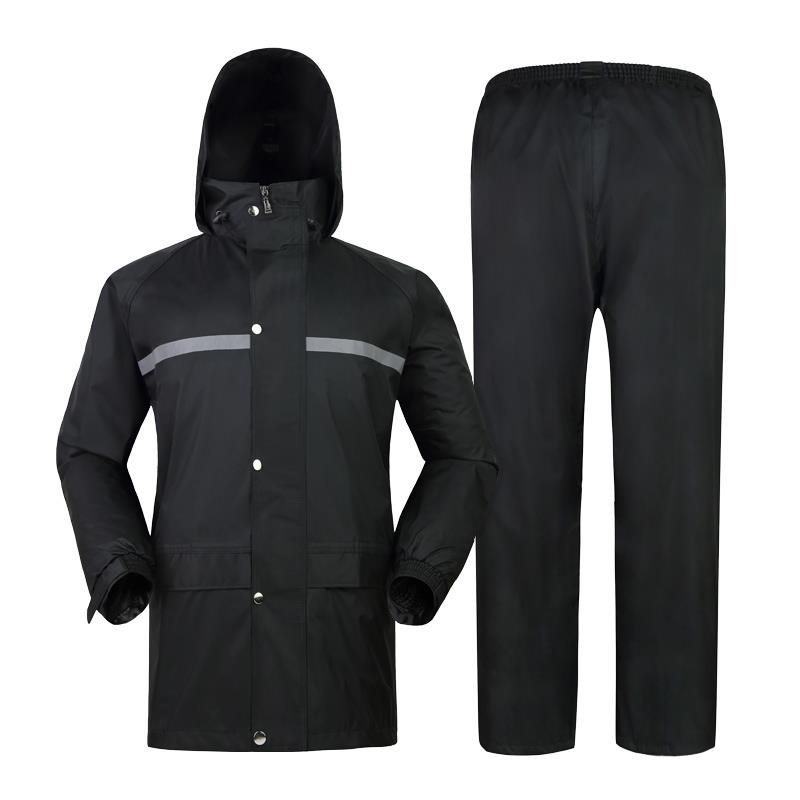 机动轮椅车雨衣雨裤J127(黑色、蓝色可选 )