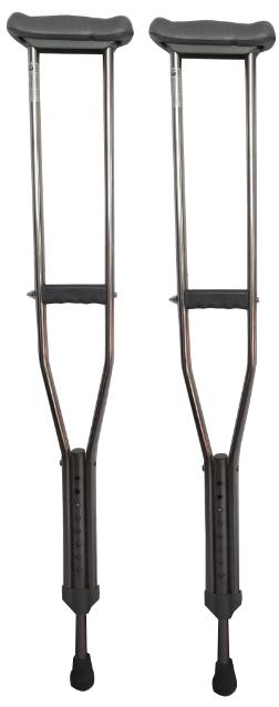 不锈钢腋拐φ1.2中号KL-BG