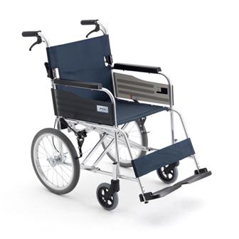 铝合金手推轮椅车MPTC-46JL(座宽44cm)
